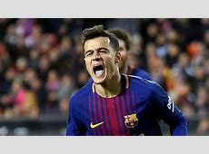 Copa del Rey Sevilla vs Barcelona Coutinho 'anxious and