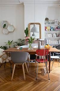 Chaise Moderne Avec Table Ancienne : mixe and match de chaises d pareill es ~ Teatrodelosmanantiales.com Idées de Décoration