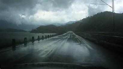 Rain Storm Heavy Dark Clouds Wet Overhead