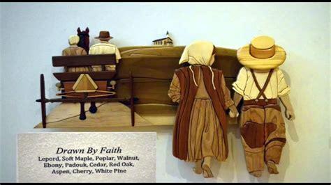 don kosten wood intarsia art exhibit   university
