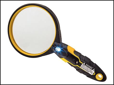 small magnifying glass with light magnifying glass led rockler woodworker 39 s journal