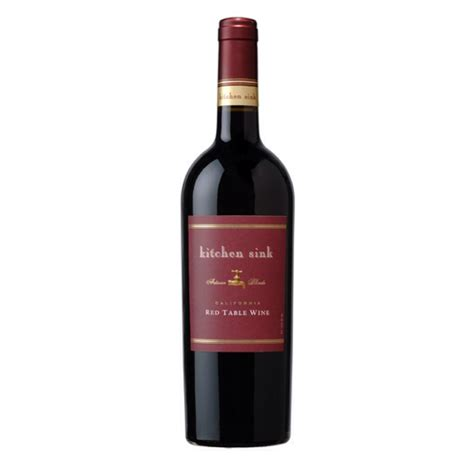 Ttb Wine Review Kitchen Sink Red Table Wine Thisthatbeauty