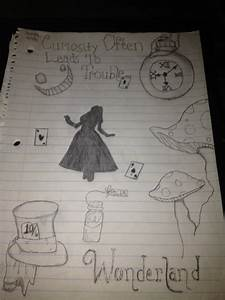 alice in wonderland drawings tumblr Quotes