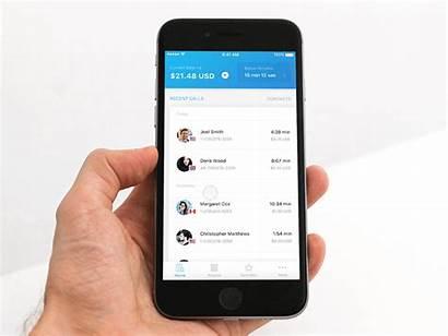 App Calling Interaction International Dribbble Simplify Accessing