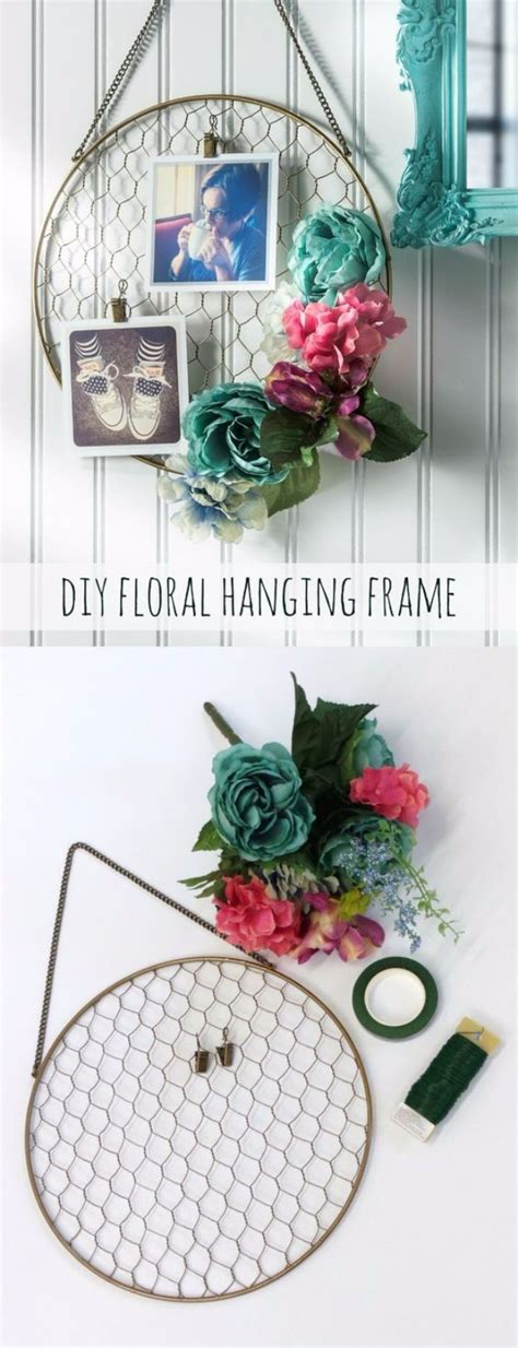 diy chicken wire crafts rustic home decor ideas