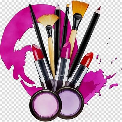 Clip Clipart Cosmetics Makeup Brush Transparent Brushes