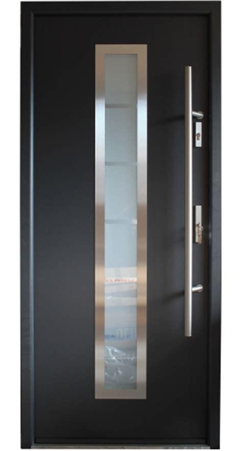 madrid stainless steel entry door  glass