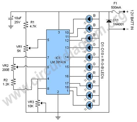 battery monitor circuit circuit diagram