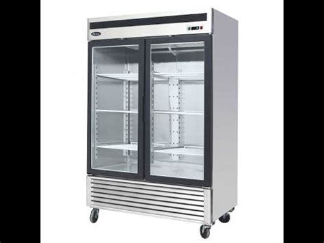Kitchen Equipment Seattle by Atosa Mcf8707 Glass Door Refrigerator Restaurant Equipment