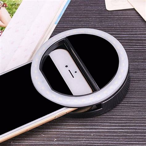 cell phone ring light 2017 led selfie flash phone ring fill light for