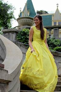 belle39s 2017 gold yellow ballgown dress from beauty the With emma watson belle wedding dress