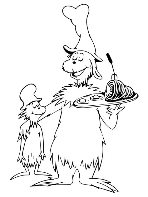dr seuss coloring pages getcoloringpagescom