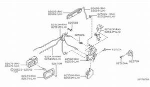 Nissan Frontier Tailgate Parts Diagram