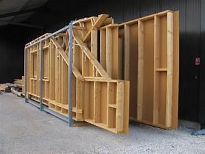 Epaisseur Mur Ossature Bois : mur ossature bois album mur ossature bois le blog de mob ~ Melissatoandfro.com Idées de Décoration
