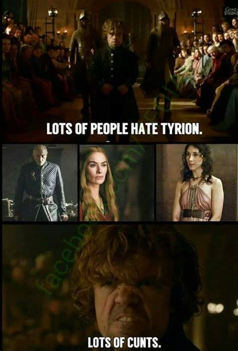 tyrion lannisters trial  told  fan  memes
