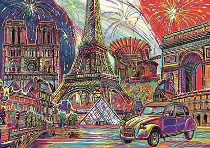 Puzzle Paris Trefl Colours Jigsaw Pieces Piece