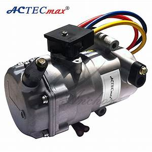 Electric Car Ac Compressor  Dc 12v Compressor  View 12v