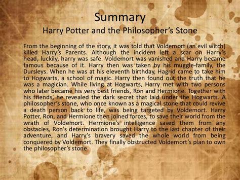 Short novel summary