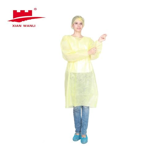 Latex surgical gloves are the most popular choices of protective glove in the health care industry. China Laminated Isolation Gown Manufacturers, Suppliers - Factory Direct Wholesale - Wanli