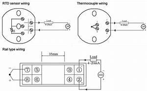 Temperature Transmitter  Pt100  E  K  S  B  T  J  N  R Type