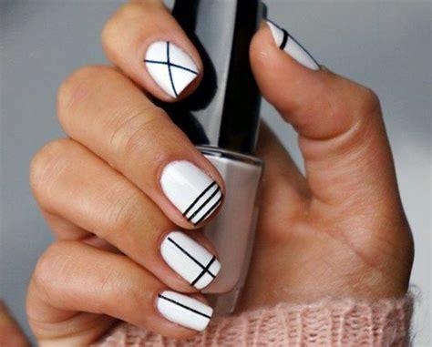 deco ongle en gel noir et blanc 17 meilleures id 233 es 224 propos de ongle gel deco sur vernis 224 ongles pour mariage
