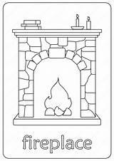Fireplace Coloring Printable Chimney Coloringoo Fire Elsa Drawing Lettering Cartoon Number Printables Outline Tweet Whatsapp Email sketch template