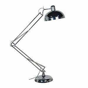 giant contemporary chrome floor angle lamp mulberry moon With giant chrome floor lamp homebase