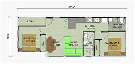 banksia granny flat floor plans    bedroom granny