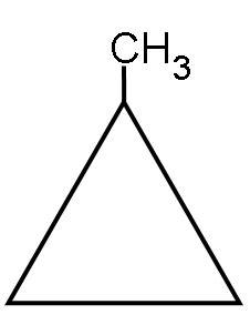 ring for methylcyclopropane