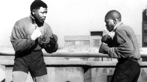 young nelson mandela boxing