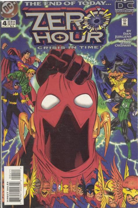 zero hour dc crisis comics superman comic vol issue comicbookrealm five zh1 wikia project events annotated jurgens dan