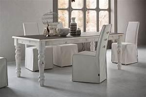 Holztisch Shabby Chic : adriano vintage holztisch shabby chic 160x90 cm fest platte aus verschiedenen materialien ~ Frokenaadalensverden.com Haus und Dekorationen