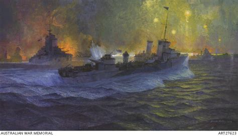 march  battle  cape matapan  australian