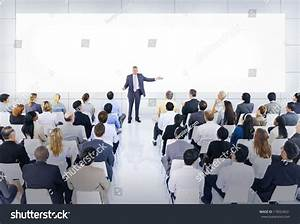 Business Conference And Presentation Stock