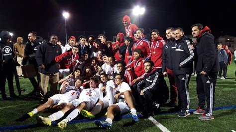boys soccer win championship east side high school
