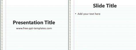 notebook  template  powerpoint templates