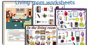 living room furniture vocabulary vocabulary living room With furniture in the living room worksheet