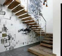 Treppenhaus Beleuchtung Wand : 1001 beispiele f r treppenhaus gestalten 80 ideen als inspirationsquelle ~ Eleganceandgraceweddings.com Haus und Dekorationen
