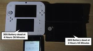 Nintendo 2DS Vs 3DS Battery Life Analysis Product