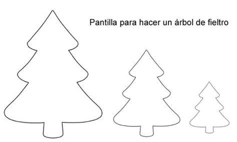 plantilla arbol navidad hacer un 225 rbol de navidad de fieltro plantilla para el contorno siluetas y otros