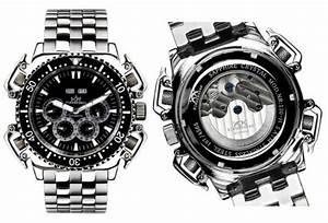 Vente Privée Montre Homme : montre homme hindenberg bracelet acier ~ Melissatoandfro.com Idées de Décoration