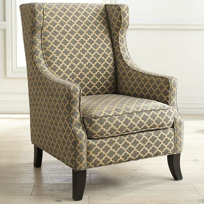 pier one accent chairs canada alec gray trellis wing chair pier 1 imports