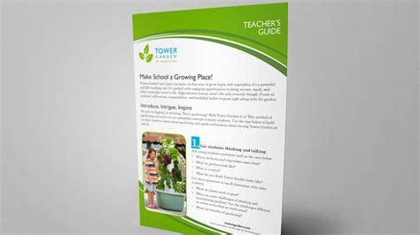 Lesson Plans For School Tower Gardens