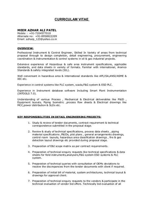 instrument engineer resume copywriteropenings