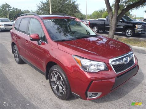 subaru forester red 2014 venetian red pearl subaru forester 2 0xt touring