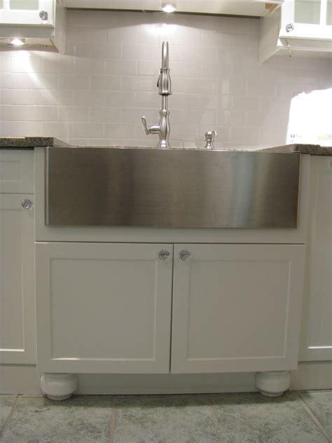 chic kraus sinks  kitchen contemporary  tile