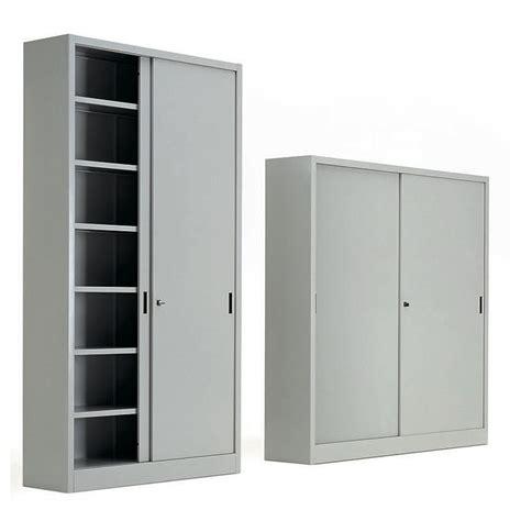 armadi metallici ufficio armadi metallici ante scorrevoli metallo grigio ral7035