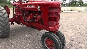 Farmall Super Mta Tractor With Live Pto  Rear Hydraulics