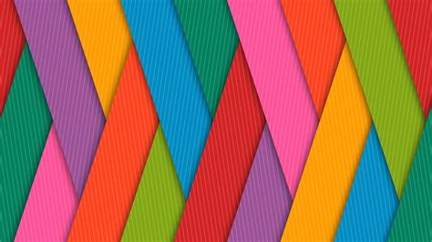 Wallpaper Colorful, Lines, Pattern, HD, 4K, Abstract, #3826