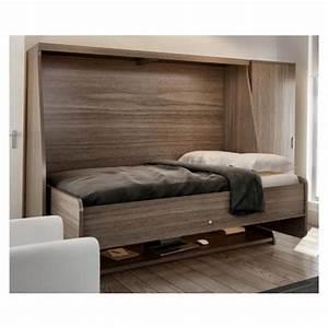 Lit Avec Tv Escamotable Maison Design